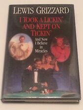LEWIS GRIZZARD SIGNED I Took a Lickin & Kept On Tickin 1993 BOOK Atlanta Journal
