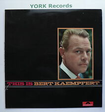 BERT KAEMPFERT - This Is ... - Excellent Condition LP Record Polydor 104 699