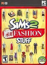Sims 2: H&M Fashion Stuff (PC, 2007)