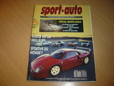 Sport Auto N°349 911 Turbo / 928 GT / Ferrari 348.Jaguar 3.2 Sovereign.Golf GTi