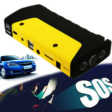 50800mAh Portable Car Jump Start Pack Booster Charger Battery USB New