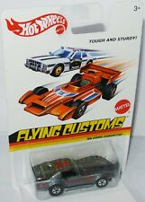Flying Customs - 1969 Chevy copo Corvette-Grey/Graphics - 1:64 Hot Wheels