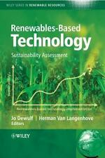 Renewables-Based Technology: Sustainability Assessment (Wiley Series i-ExLibrary