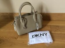 DKNY FAWN VINTAGE STYLE LEATHER TOTE HANDBAG. RRP £300 - REDUCED TO £75
