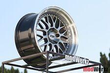 17x8.5 +30 Inch ESR SR01 SR1 5x120 Black Wheels Rims BMW e30 e36 e46 e90 M3 M5