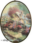 THOMAS KINKADE Lamplight Lane V SUNCATCHER Artcatcher (New in box, box damaged)