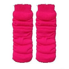 LADIES LEG WARMERS NEON COLOURS TUTU NEON LEG WARMERS PINK BLACK RED - BRAND NEW