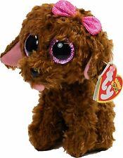 Ty Beanie Boos Glubschi Hund Maddie braun mit Schleife 15 cm