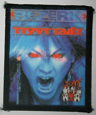 TIGERTAILZ  Bezerk Original Vintage 80`s/90`s Printed Sew On Patch not shirt lp