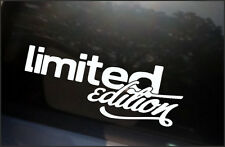 LIMITED EDITION Decal sticker vinyl turbo JDM Euro Drift Dub VW Bumper