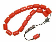B-0107 - Beautiful Polyester Loose String Greek Komboloi Prayer Worry Beads