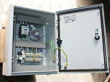 HVAC Control box differential pressure sensor motor contactor Watters Insolvency