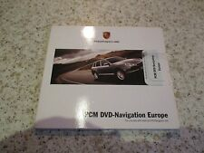 PORSCHE PCM 2.1 2007 SATELLITE SAT NAV NAVIGATION DVD ROM DISC EUROPE FREE POST