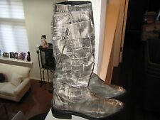 DKNY , Ladies High Boots , Size 8 , Made in Spain , Full Zipper