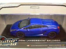 GREENLIGHT COLLECTIBLES 1:43 SCALE DIECAST METAL BLUE LAMBORGHINI GALLARDO
