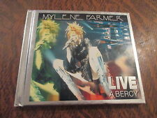album 2 cd mylene farmer live a bercy