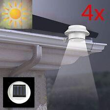 4x 3LED Lampe Capture Solaire Murale Mouvement Détecteur Extérieur Maison Jardin