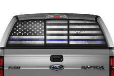 Ford F150 Raptor F-150 BLM Rear Window Tint Police Sticker Decal 09-10-11-12-13