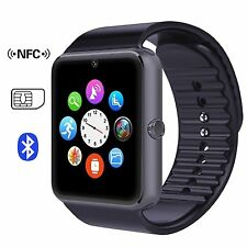 Sweatproof Bluetooth Smart Watch Phone with Camera for Samsung S5 S6 Note LG ZTE