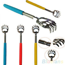 Stylish Latest Bear Claw Telescopic Stainless Back Scratcher Extendable Massage