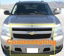 For 07~14 Chevy Tahoe/Suburban/Avalanche Black Billet Grille Combo