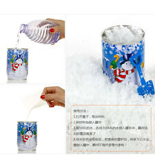 Instant Snow Man-Made Magic Artificial Snow Powder Christmas Decor DIY