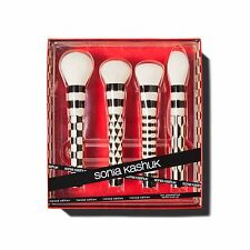 New Sonia Kashuk The Geometrics 4 Piece Brush Set NEW IN BOX