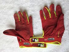 David Ortiz Game Used  Batting Gloves Boston Red Sox W/MLB AUTHENTICATION