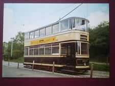 POSTCARD SHEFFIELD CORPORATION TRAMCAR NO 189 TOTALLY ENCLOSED