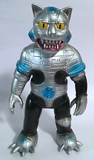 Medicom Toy Toei Retro Soft Vinyl Collection Kikaider Silver Cat Kaiju Japanese