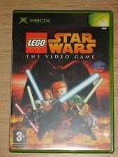 LEGO STAR WARS THE VIDEO GAME - MICROSOFT XBOX GAME  - ORIGINAL & COMPLETE