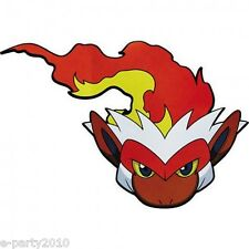 POKEMON Diamond and Pearl PAPER MASKS (6) ~ Birthday Party Supplies Infernape