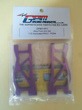 GPM Racing Front Arm Set for 1:10 Associated B44.2 RC Car Parts PURPLE GPM414 PU