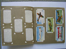 """Old Cigarette Card Album With Full Set Of Will's """"Speed"""""""