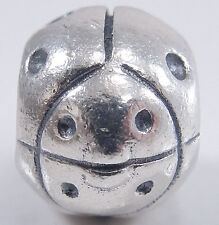 Authentic Pandora Sterling Silver Lady Bug Charm Bead Beetle Bug #790135 ALE