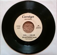 Willie Mae (Big Mama) Thornton  ‎–   Mercy/Yes I Cried Carolyn ‎006 RARE REISSUE