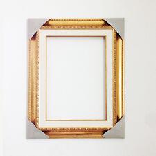 Bellissima cornice in legno color oro rettangolare cm 30x40