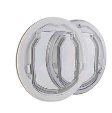 PC2-C-Pro,  kleine Hundeklappe für den Glaseinbau. Hundetür aus Bayer-Makrolon®