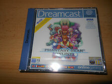 PHANTASY STAR ONLINE SEGA DREAMCAST GAME NEW FACTORY SEALED COLLECTORS MINT CON