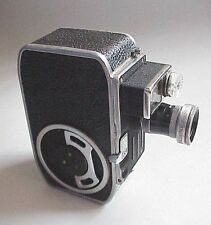 VERY Vintage Bolex Paillard C 8SL 8mm Movie Camera. NICE!!!
