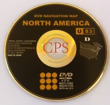Genuine OEM Toyota Matrix 2009-11 U83 GPS Navigation DVD North America v10.1