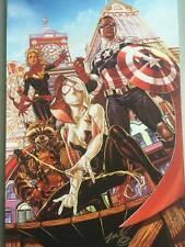 "Mark Brooks Secret Wars Print 13x19 ""ACBC Variant"" Spider-Gwen Rocket"