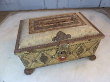 Vintage tin moneybox money box