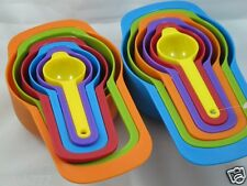 New 6-Pieces Set Colorful Measuring Cups-Gift Idea