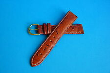 18mm OSTRICH GRAIN leather WATCH Strap Band