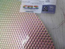 "Dichroic Glass:CBS 96 COE Green/Pink on Flat Thin Radium Textured Black - 3""Sq"