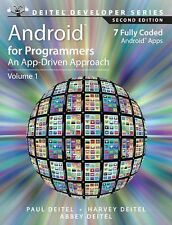 Android for Programmers : An App-Driven Approach by Abbey Deitel, Harvey...