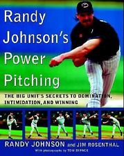 Randy Johnson's Power Pitching by Randy Johnson (2003  Paperback)