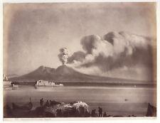 Foto all'albumina (Edizione Brogi),  Napoli, Vesuvio, 1880 ca.