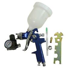 22142120 HVLP Low Pressure Upper Cup Paint Spray Gun With Air Regulator 2mm